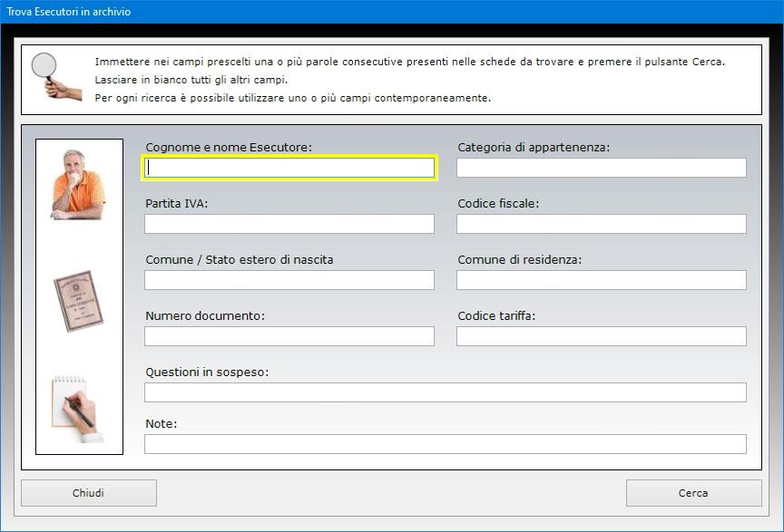 Bollettini postali c c 8003 software per la stampa dei for Codice fiscale da stampare