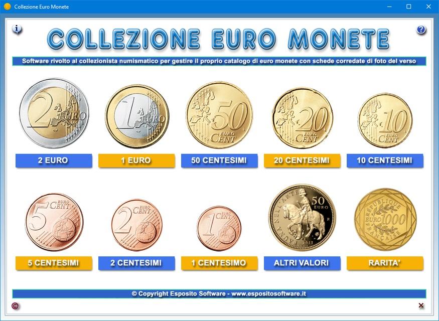 e191d3b11b Come è noto, le monete euro, in circolazione dal 1º gennaio 2002, sono  disponibili in otto tagli, che spaziano da 1 centesimo a 2 euro.