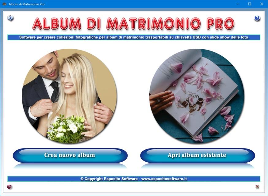 Exceptionnel Album di Matrimonio Pro - Software per gestire un archivio  YZ81