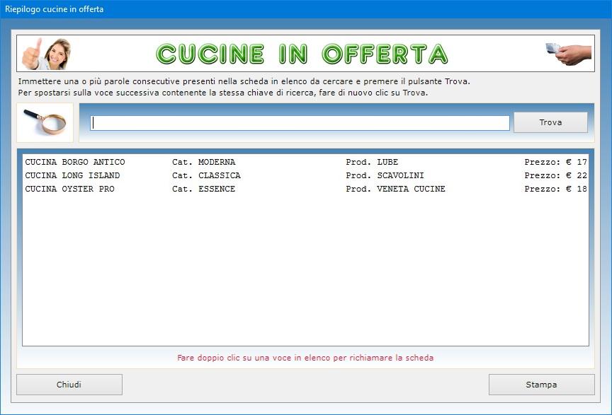 Vendita Cucine Viaggianti Usate.Gestione Vendita Arredamenti 2 0 Software Per Negozi Di Mobili
